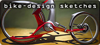 Bike design, sketches
