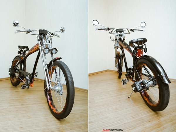 Ghotic Rasta Bike from Russia