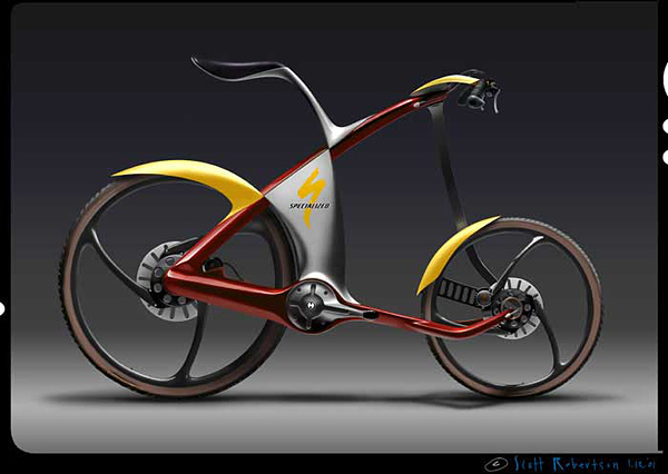 Concept bike by Scott Robertson