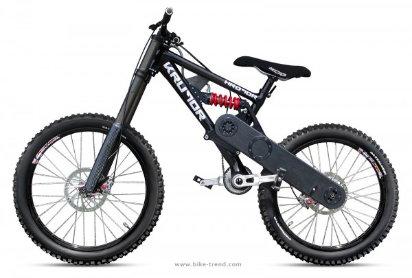 Krutor Hrotor - Carbon DH bike
