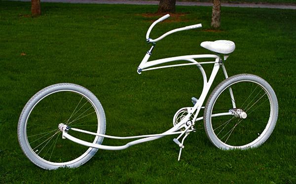 Forkless bike designed by Olli Erkkila, from Finland.