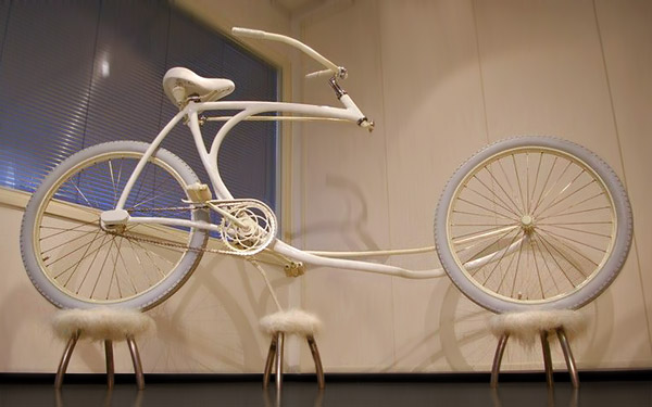 Forkless bike designed by Olli Erkkila, from Finland.