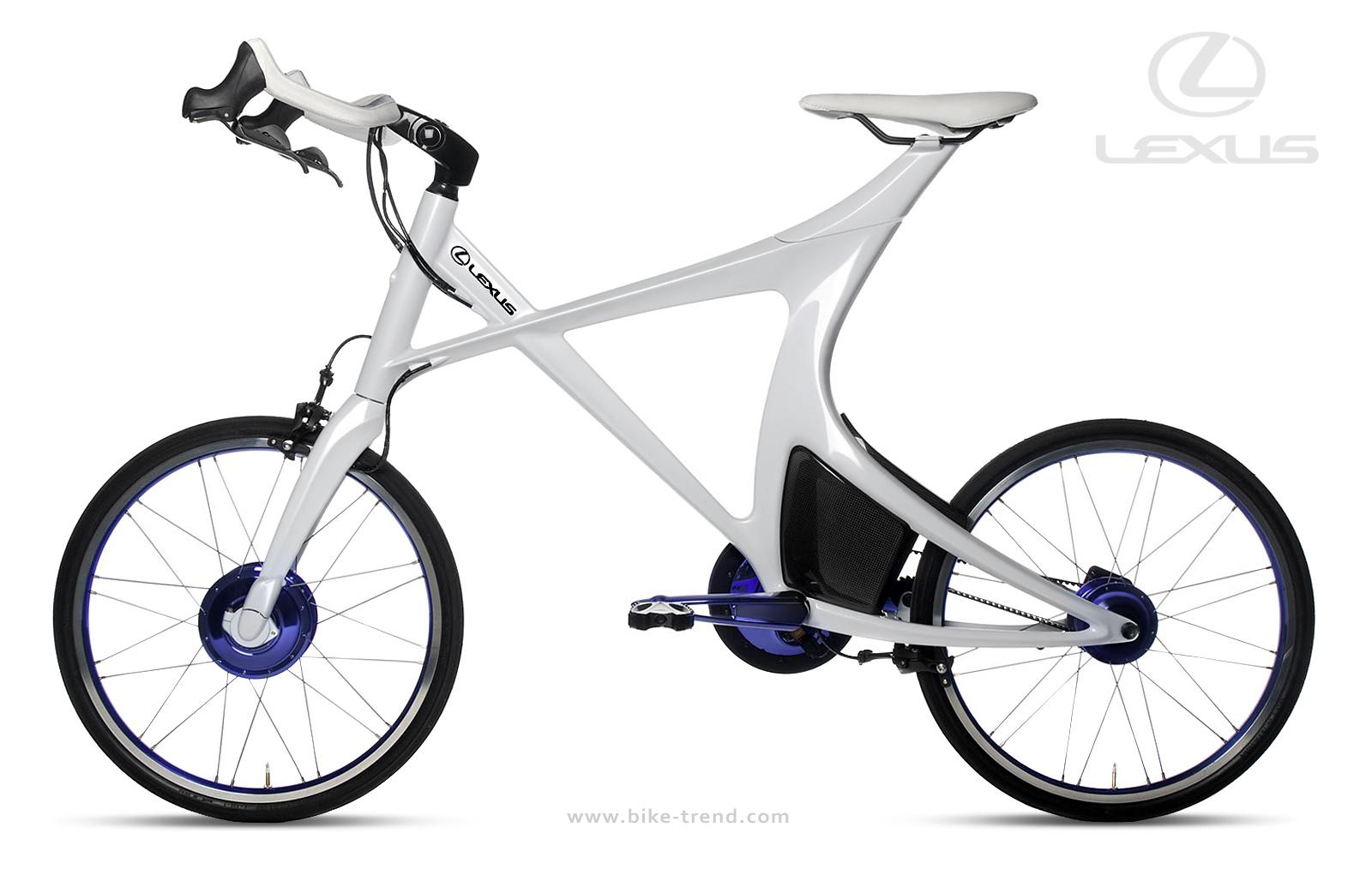 Lexus HB Concept Hybrid Bike