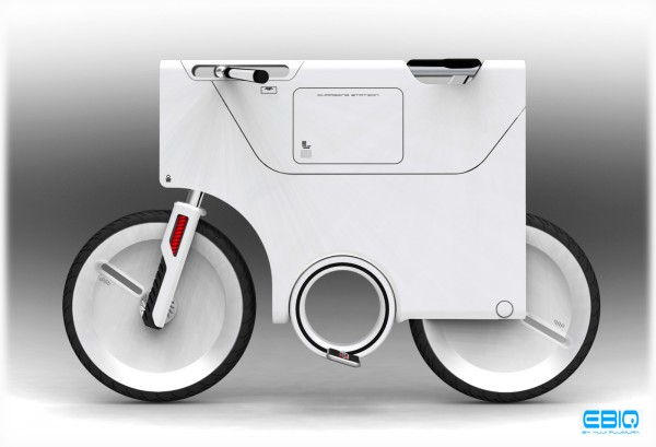Electric bike concept by Yuji Fujimara