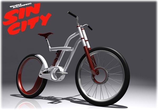Sin City, urban bike design by Richard Malachowski
