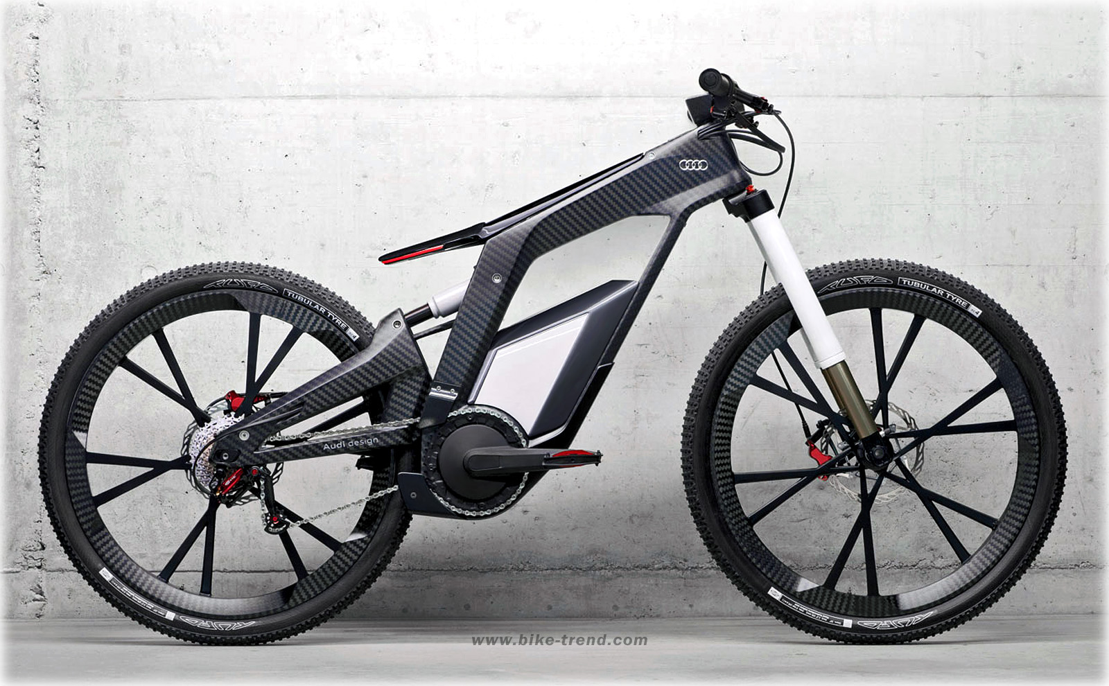 Audi E-Bike Concept (2012) electrical bicycle by Audi design